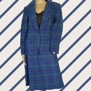 Vintage Pendleton Skirt Suit